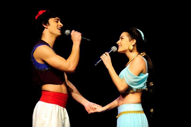 Jasmin und Aladdin; Foto: Bernhard Fritsch