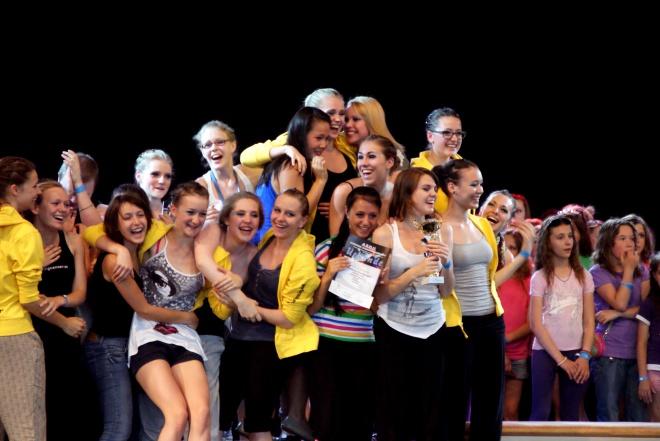 Die glücklichen SiegerInnen aus dem PCA bei den AO '11