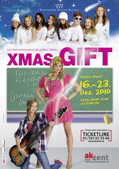 PCA XMas Gift Poster