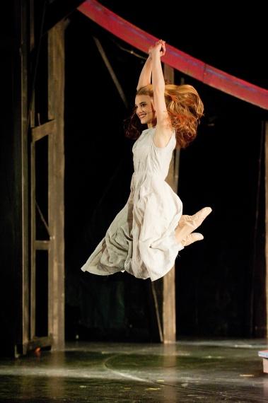 "Astrid Gollob als ""Luise""; Foto: Dimo Dimov"