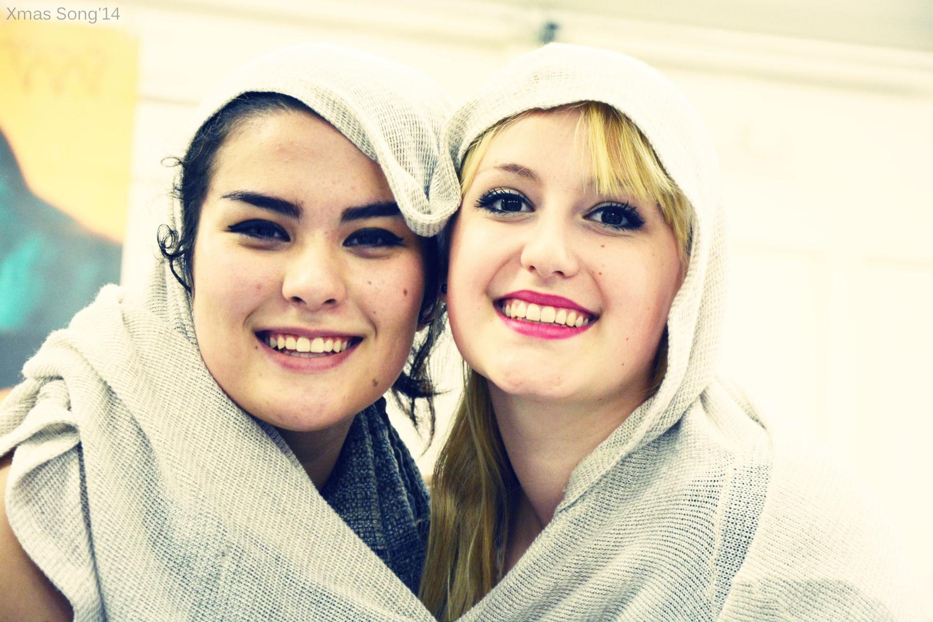 Amelia&Sophie XMAS-tile