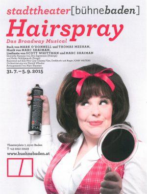 Hairspray Baden SUJET